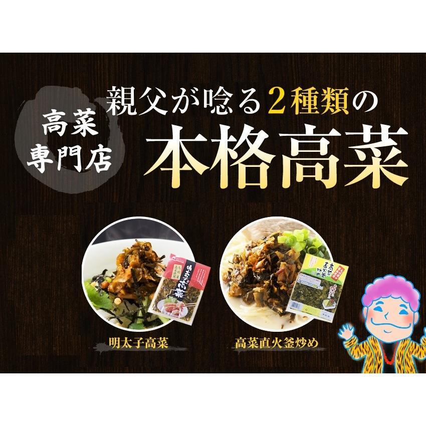 ポイント消化 国産 博多高菜漬け2種類  業務用|once-in|05
