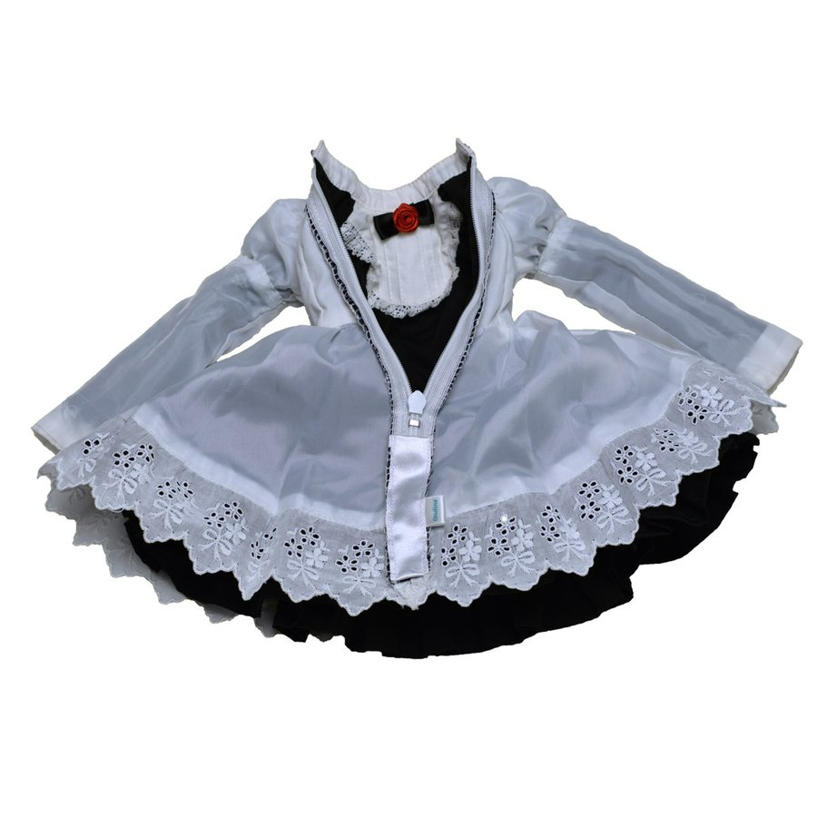 BL カジュアルワンピースドレス 可愛いメイド服のセットです。DD(S胸〜L胸)|ondine|10