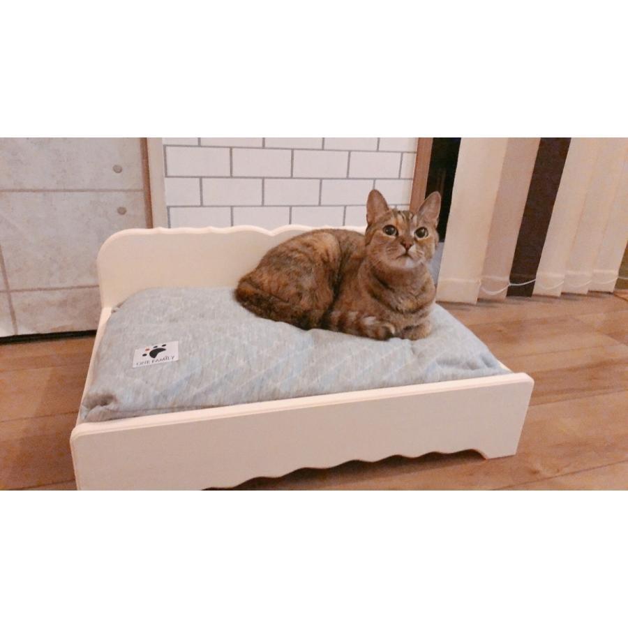 【ペットではなくあなたは家族】 羽毛クッション用木製ベッド|one-family|03