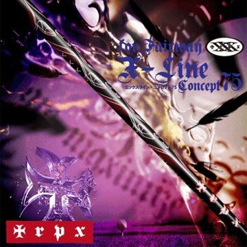 TRPX X-Line 75 ウッド用 シャフト/リシャフト工賃込み