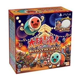 送料無料 【PS4】太鼓の達人 セッションでドドンがドン! 同梱版
