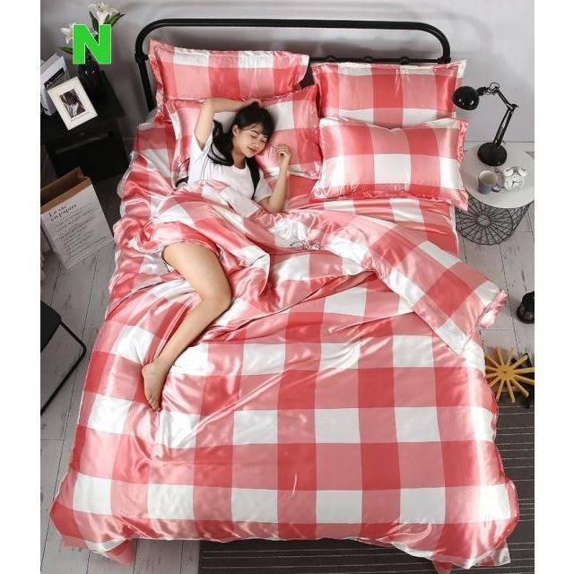 布団 掛け布団 夏用 ふとん 寝具 シーツカバー 枕カバー 夏掛け 四季通用 洗える 抗菌 防臭 軽量 柔らかい 涼感 北欧風 サマー 1.5M 1.8M 2M 4点セット|onep-no-machi|18