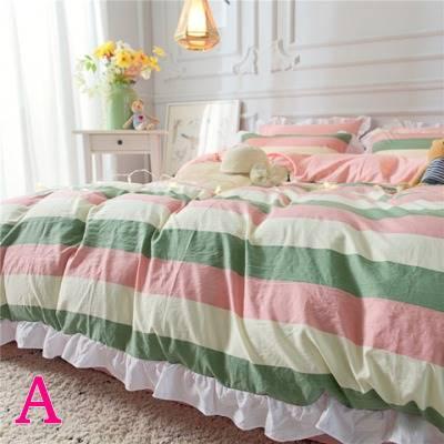 布団カバー 3点セット シングル 綿100% 寝具セット シーツカバー 枕カバー 夏掛け 洗える 軽量 柔らかい 涼感 北欧風 サマー 1.5M 1.8M 2M 4点セット|onep-no-machi