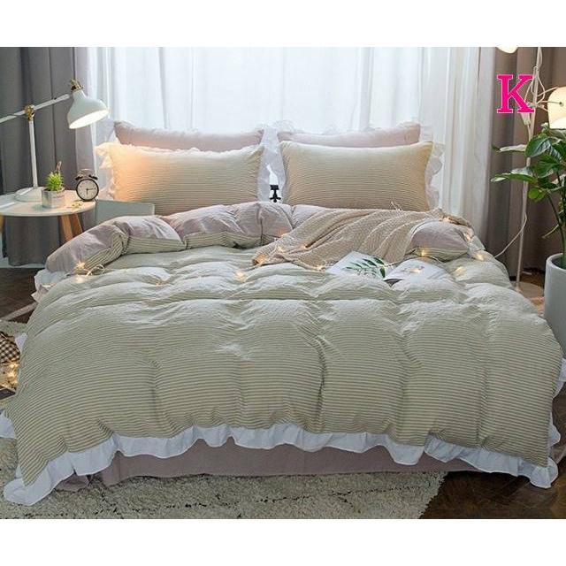 布団カバー 3点セット シングル 綿100% 寝具セット シーツカバー 枕カバー 夏掛け 洗える 軽量 柔らかい 涼感 北欧風 サマー 1.5M 1.8M 2M 4点セット|onep-no-machi|11
