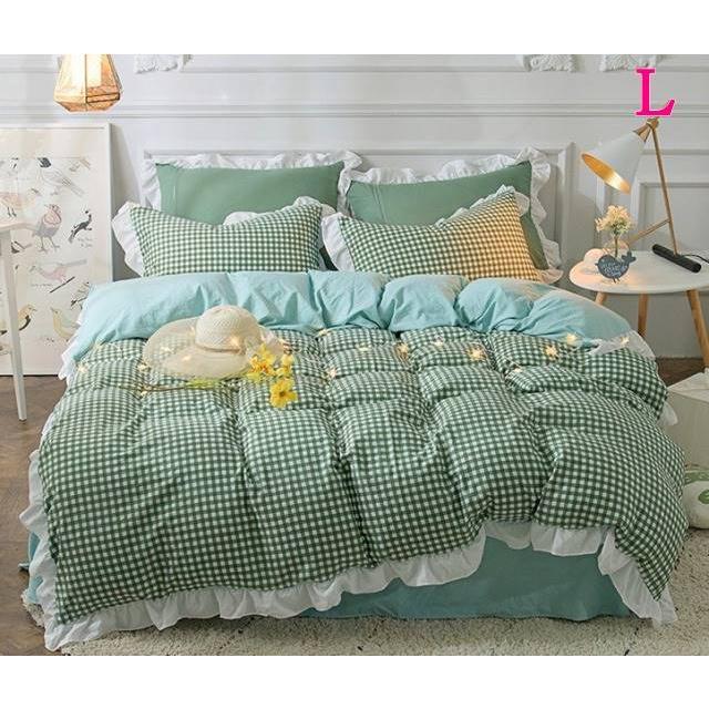 布団カバー 3点セット シングル 綿100% 寝具セット シーツカバー 枕カバー 夏掛け 洗える 軽量 柔らかい 涼感 北欧風 サマー 1.5M 1.8M 2M 4点セット|onep-no-machi|12