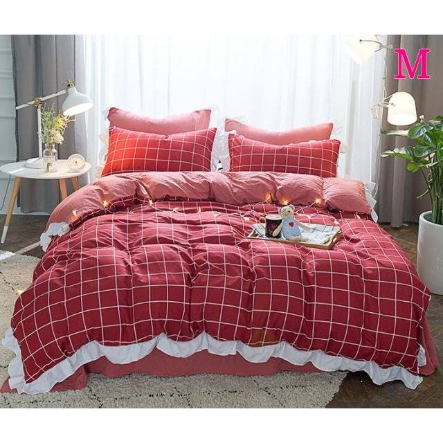 布団カバー 3点セット シングル 綿100% 寝具セット シーツカバー 枕カバー 夏掛け 洗える 軽量 柔らかい 涼感 北欧風 サマー 1.5M 1.8M 2M 4点セット|onep-no-machi|13