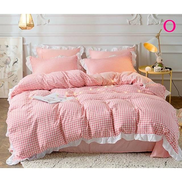 布団カバー 3点セット シングル 綿100% 寝具セット シーツカバー 枕カバー 夏掛け 洗える 軽量 柔らかい 涼感 北欧風 サマー 1.5M 1.8M 2M 4点セット|onep-no-machi|15