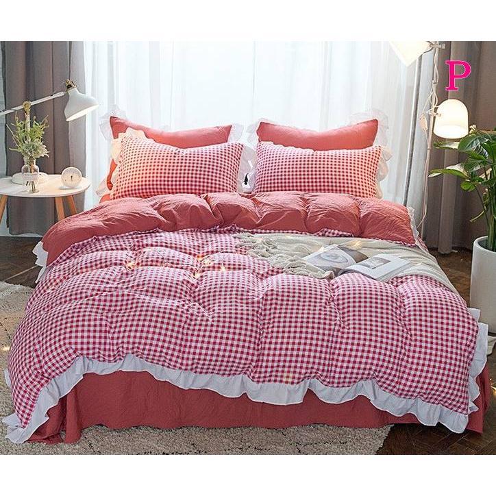 布団カバー 3点セット シングル 綿100% 寝具セット シーツカバー 枕カバー 夏掛け 洗える 軽量 柔らかい 涼感 北欧風 サマー 1.5M 1.8M 2M 4点セット|onep-no-machi|16