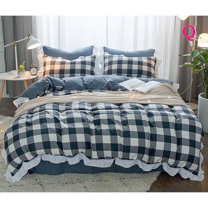 布団カバー 3点セット シングル 綿100% 寝具セット シーツカバー 枕カバー 夏掛け 洗える 軽量 柔らかい 涼感 北欧風 サマー 1.5M 1.8M 2M 4点セット|onep-no-machi|17