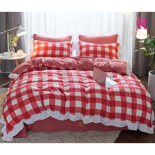 布団カバー 3点セット シングル 綿100% 寝具セット シーツカバー 枕カバー 夏掛け 洗える 軽量 柔らかい 涼感 北欧風 サマー 1.5M 1.8M 2M 4点セット|onep-no-machi|18
