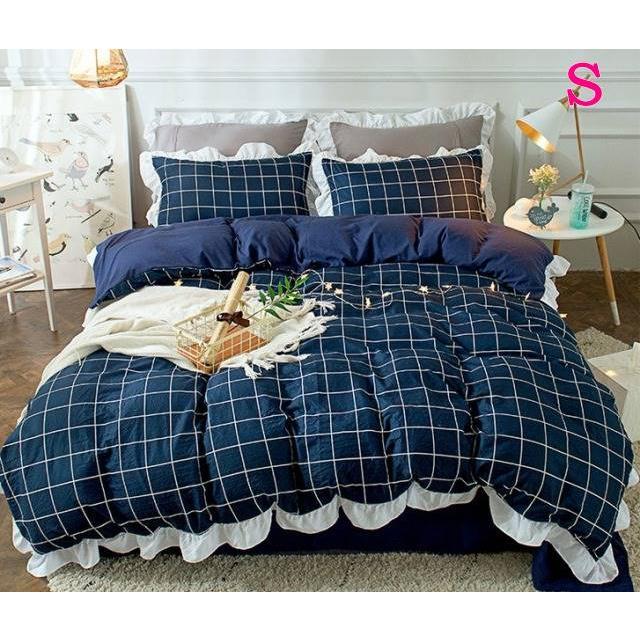 布団カバー 3点セット シングル 綿100% 寝具セット シーツカバー 枕カバー 夏掛け 洗える 軽量 柔らかい 涼感 北欧風 サマー 1.5M 1.8M 2M 4点セット|onep-no-machi|19