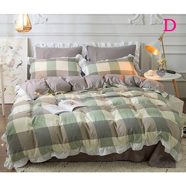 布団カバー 3点セット シングル 綿100% 寝具セット シーツカバー 枕カバー 夏掛け 洗える 軽量 柔らかい 涼感 北欧風 サマー 1.5M 1.8M 2M 4点セット|onep-no-machi|04