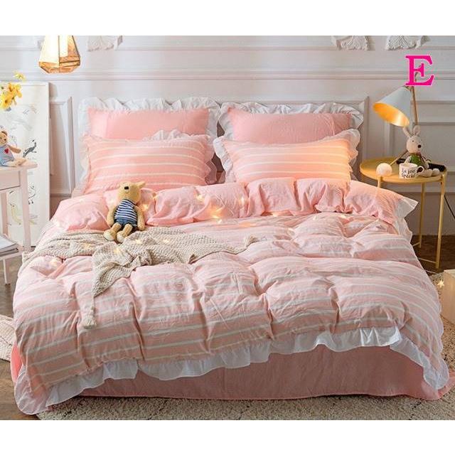 布団カバー 3点セット シングル 綿100% 寝具セット シーツカバー 枕カバー 夏掛け 洗える 軽量 柔らかい 涼感 北欧風 サマー 1.5M 1.8M 2M 4点セット|onep-no-machi|05