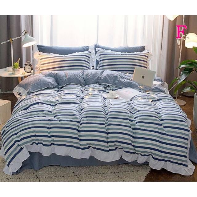 布団カバー 3点セット シングル 綿100% 寝具セット シーツカバー 枕カバー 夏掛け 洗える 軽量 柔らかい 涼感 北欧風 サマー 1.5M 1.8M 2M 4点セット|onep-no-machi|06