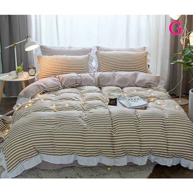 布団カバー 3点セット シングル 綿100% 寝具セット シーツカバー 枕カバー 夏掛け 洗える 軽量 柔らかい 涼感 北欧風 サマー 1.5M 1.8M 2M 4点セット|onep-no-machi|07