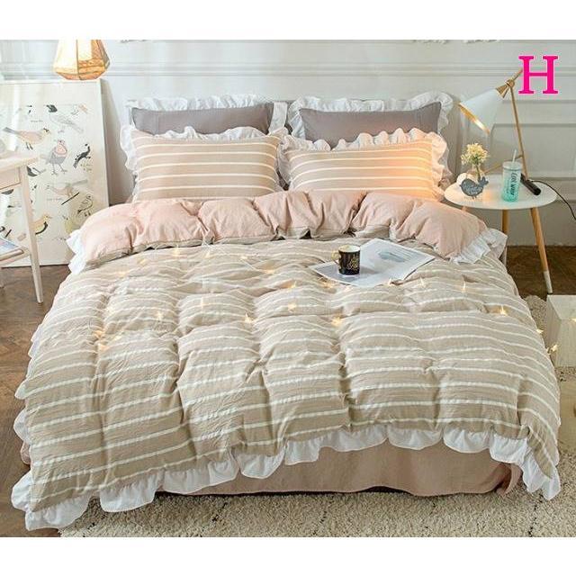 布団カバー 3点セット シングル 綿100% 寝具セット シーツカバー 枕カバー 夏掛け 洗える 軽量 柔らかい 涼感 北欧風 サマー 1.5M 1.8M 2M 4点セット|onep-no-machi|08