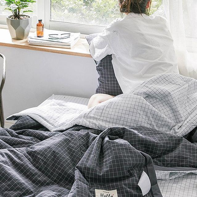 布団カバー 3点セット シングル 綿100% 寝具セット 4点セット まくらカバー シーツ おしゃれ ストライプ チェック柄 ボーダー モノトーン シンプル|onep-no-machi|17
