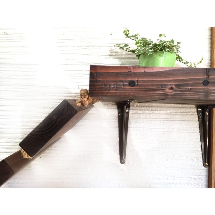 木製 ネコ用 吊り橋 キャットウォーク|oneplus|03