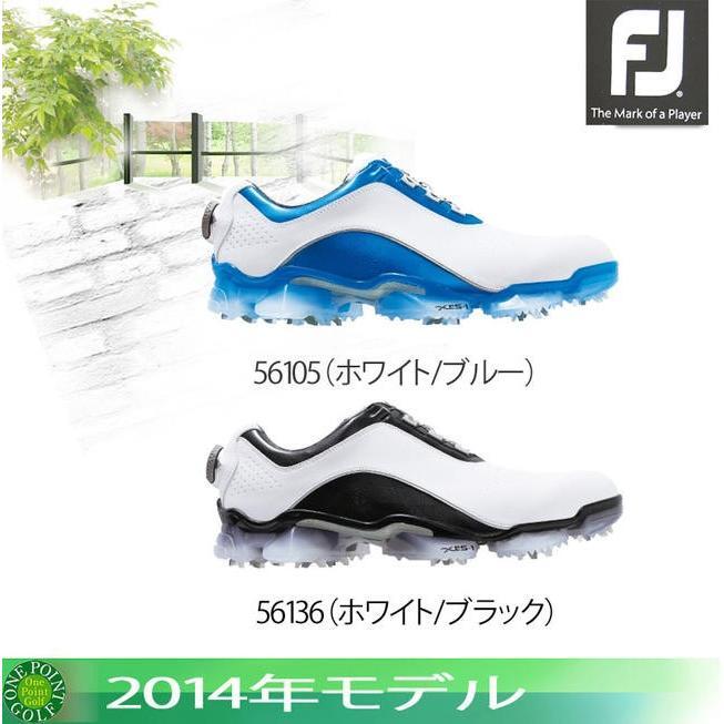 フットジョイ FootJoy メンズ 2014年モデルエックスピーエスワン ボア ゴルフシューズXPS-1 Boa 56105・5613610059567