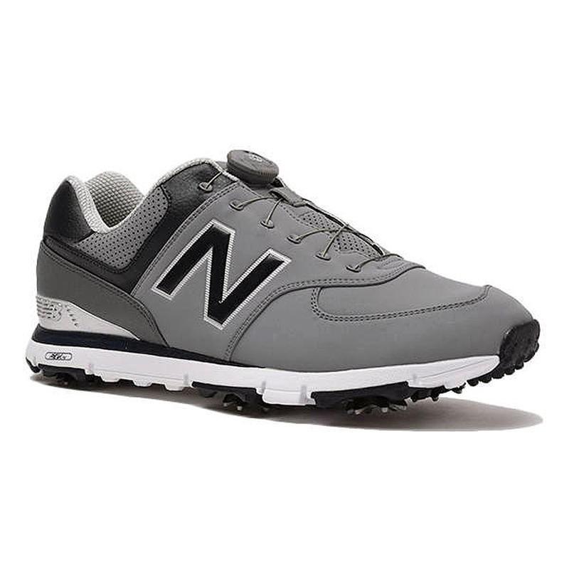 ニューバランス ゴルフ new balance メンズNBゴルフシューズ MGB574 GN カラー:GN GRAY/NAVY 10077587-メ17900
