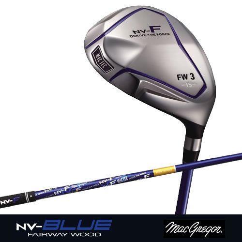 【お気に入り】 ゴルフ用品 マグレガーマックテック NV-F (18°) NV-F BLUE フェアウェイウッド#5 (18°) (S) [MN-4750fw (S) シャフト]K0000077990, カルイザワマチ:5da110c1 --- airmodconsu.dominiotemporario.com