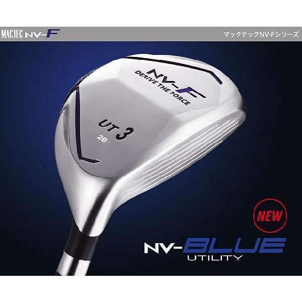 専門ショップ ゴルフ用品 マグレガーマックテック NV-F BLUE ユーティリティー UT3 20°[MP-4750ut( SR )シャフト]K0000078001, くすり屋本店 fffa849d