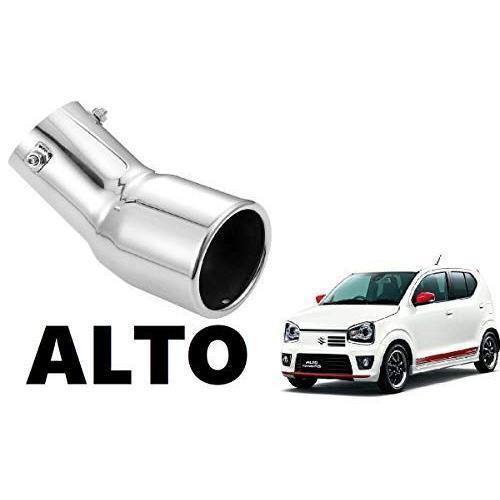 アルトワークス ターボRS HA36S 専用 マフラーカッター ALTO 図解式り付け説明取書付き H2 (シルバー)|ones-more