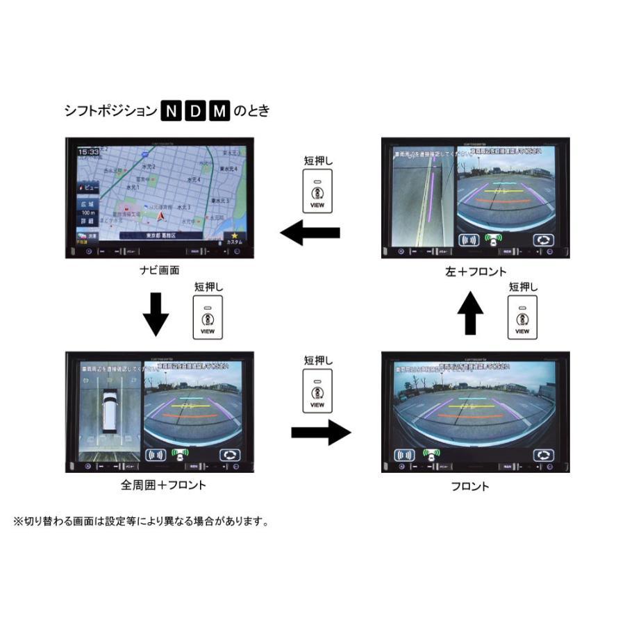 スズキ車用 全方位モニター変換アダプター(純正全方位モニター付車用)TPS060BA ワントップ/OneTop onetop-onlineshop 05