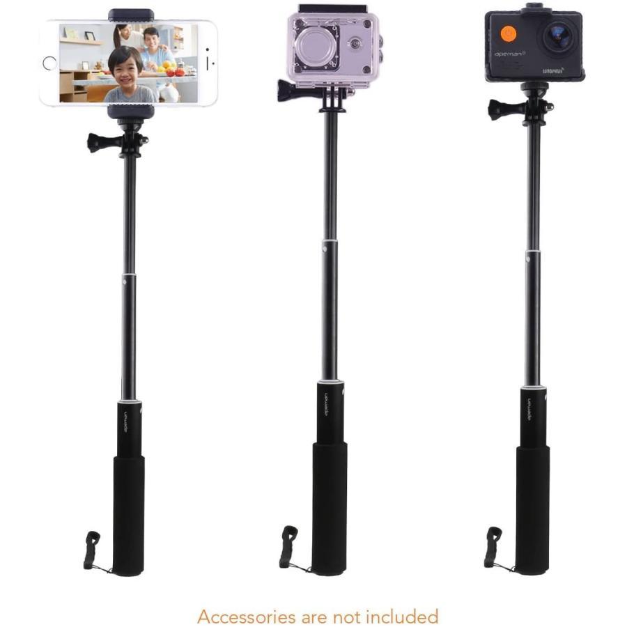 APEMAN 自撮り棒 180度回転 防水可能 ハンドグリップ アクションカメラ用 A66/A66S/A79/A80/A100 APEMAN|online-shop-ma2moto|09