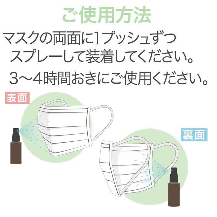 【ネコポス送料250円】 純粋レモングラスミスト 30mL バポラボ 除菌 マスク onlinedrug1 03