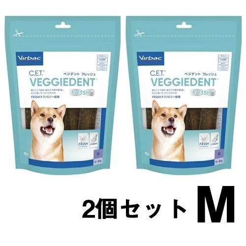 ビルバック 犬用 CETベジデントフレッシュ M 15本入り(2個セット)|onlineshop