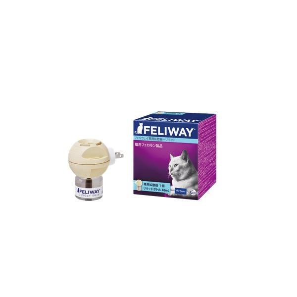 ビルバック 猫用 フェリウェイ専用拡散器+リキッド1本48ml セット|onlineshop