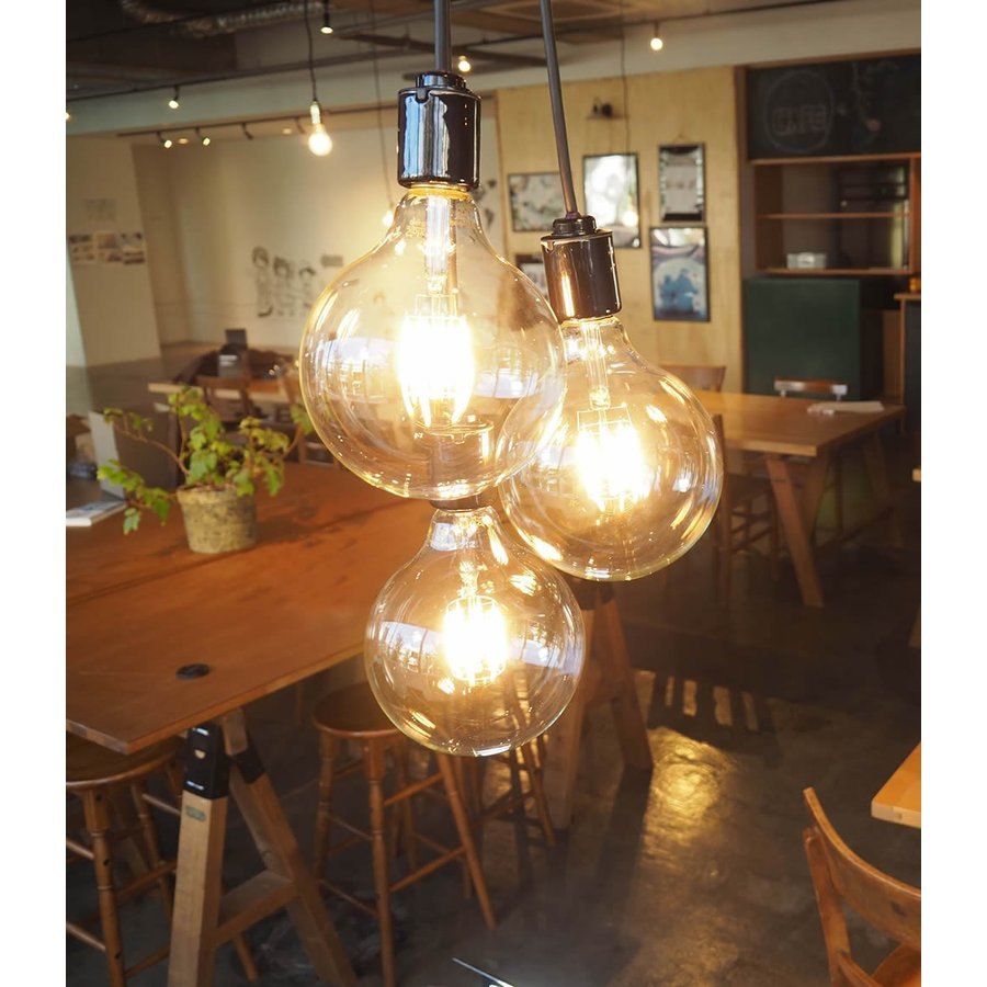 ペンダントライト 3灯 照明 間接 シーリング ダイニング リビング 玄関 おしゃれ LED カフェ インダストリアル ブルックリン 人気 ブランブラン [フレアー] BLN2|only1-led|04