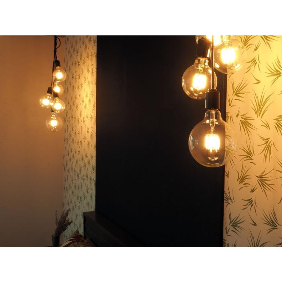 ペンダントライト 5灯 多灯 照明 シーリング ダイニング リビング 玄関 おしゃれ LED カフェ インダストリアル ブルックリン 人気 ブランブラン [フレアー] BLN3|only1-led|05