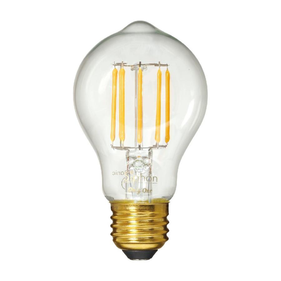 【3年保証】LED電球 E26 フィラメント LED クリア電球 30W相当 400lm 暖系電球色 間接照明 ブルックリン ヴィンテージ レトロ 「Siphon オリジナル」 only1-led 02