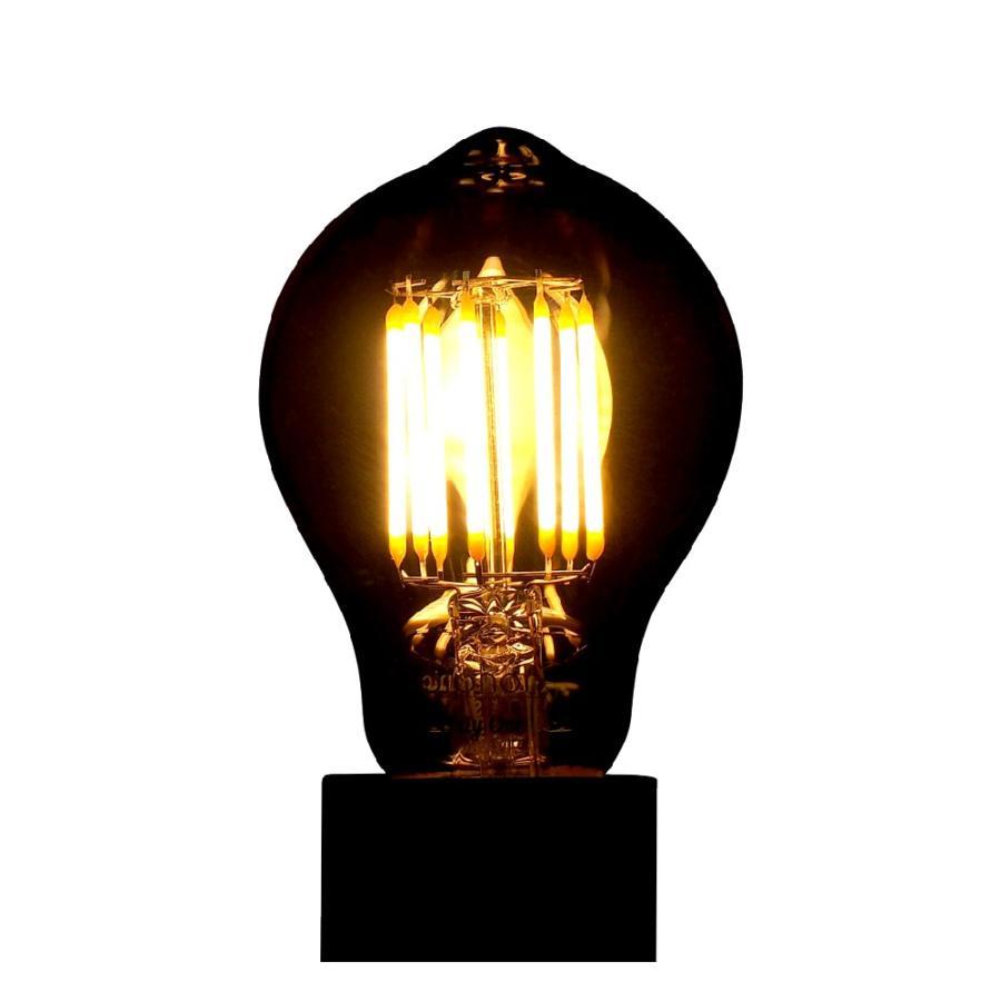 【3年保証】LED電球 E26 フィラメント LED クリア電球 30W相当 400lm 暖系電球色 間接照明 ブルックリン ヴィンテージ レトロ 「Siphon オリジナル」 only1-led 04