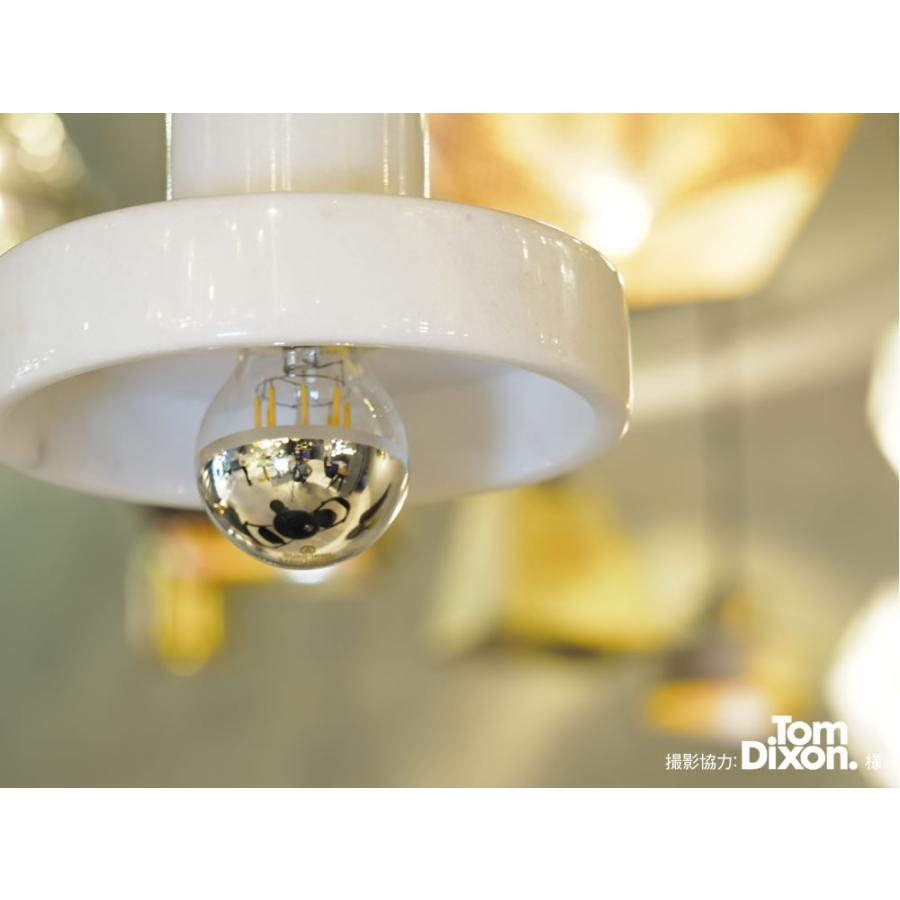 【フィラメントLED電球「Siphon」ザ・バルブ LDF39】E26 Gold mirror 暖系電球色 Tミラー レトロ アンティーク インダストリアル ブルックリン  間接照明 ランプ|only1-led|07
