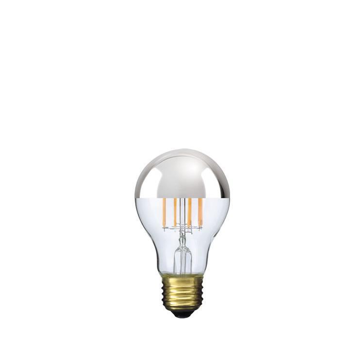 【フィラメントLED電球「Siphon」ザ・バルブ LDF40】E26 Silver mirror 電球色 Tミラー レトロ アンティーク インダストリアル ブルックリン  間接照明 ランプ only1-led 02