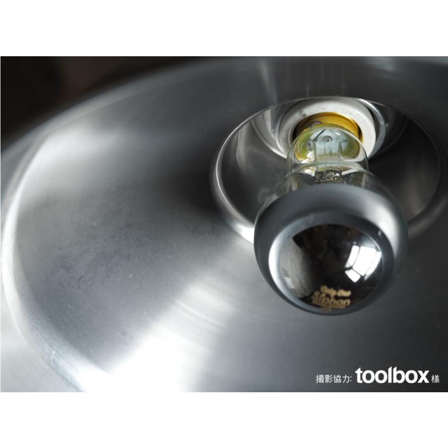 【フィラメントLED電球「Siphon」ザ・バルブ LDF40】E26 Silver mirror 電球色 Tミラー レトロ アンティーク インダストリアル ブルックリン  間接照明 ランプ only1-led 05