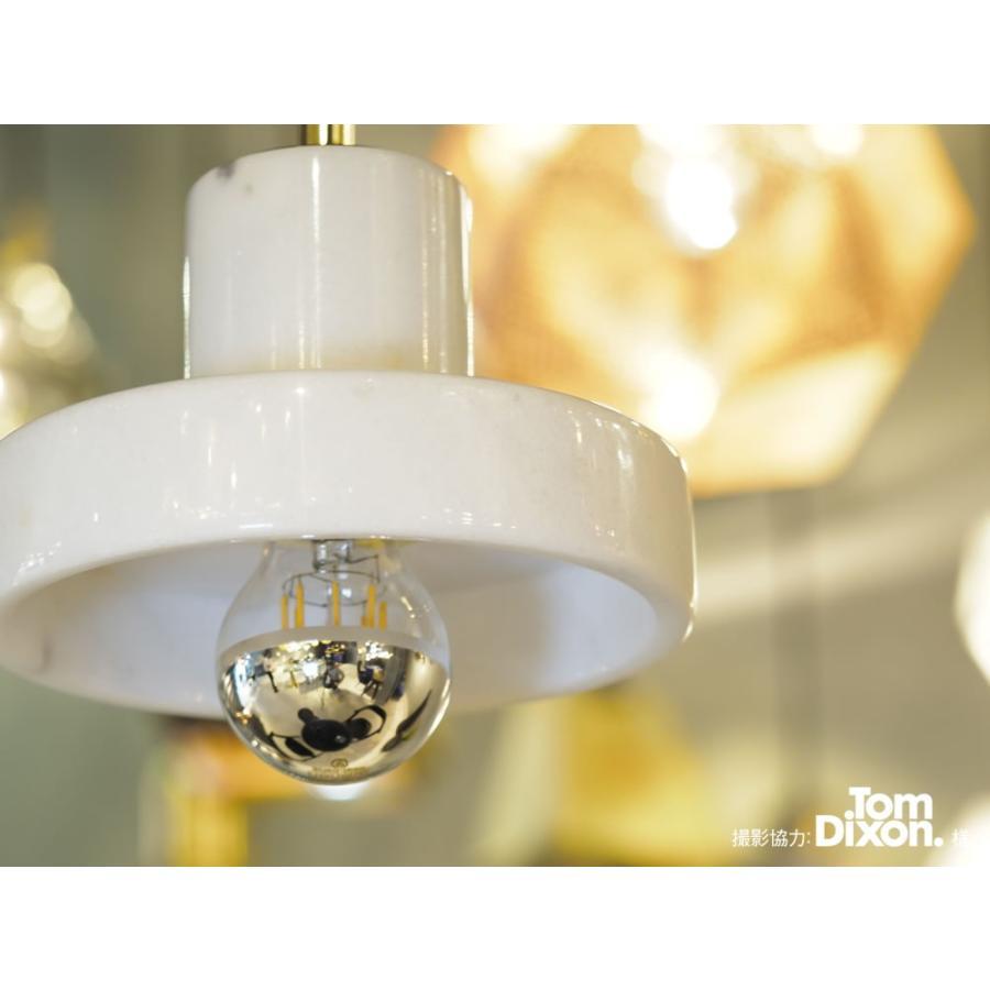 【フィラメントLED電球「Siphon」ザ・バルブ LDF40】E26 Silver mirror 電球色 Tミラー レトロ アンティーク インダストリアル ブルックリン  間接照明 ランプ only1-led 06