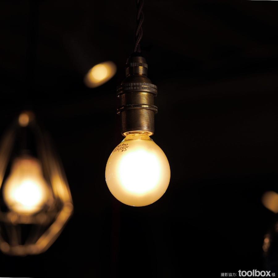 【フィラメントLED電球「Siphon」Frost ボール35 LDF58】 E17 フロスト レトロ アンティーク インダストリアル ブルックリン  間接照明 ランプ|only1-led|07
