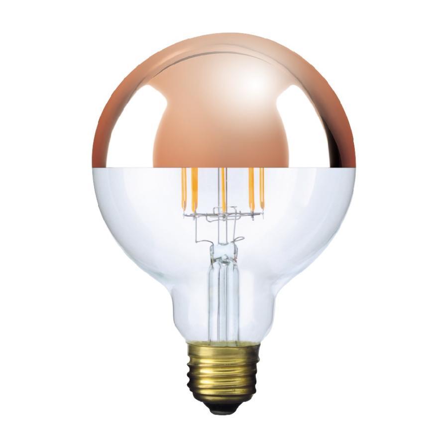 【3年保証 フィラメントLED電球「Siphon」ボール95 LDF64】E26 Copper mirror Tミラー レトロ アンティーク インダストリアル ブルックリン  間接照明 ランプ|only1-led|02