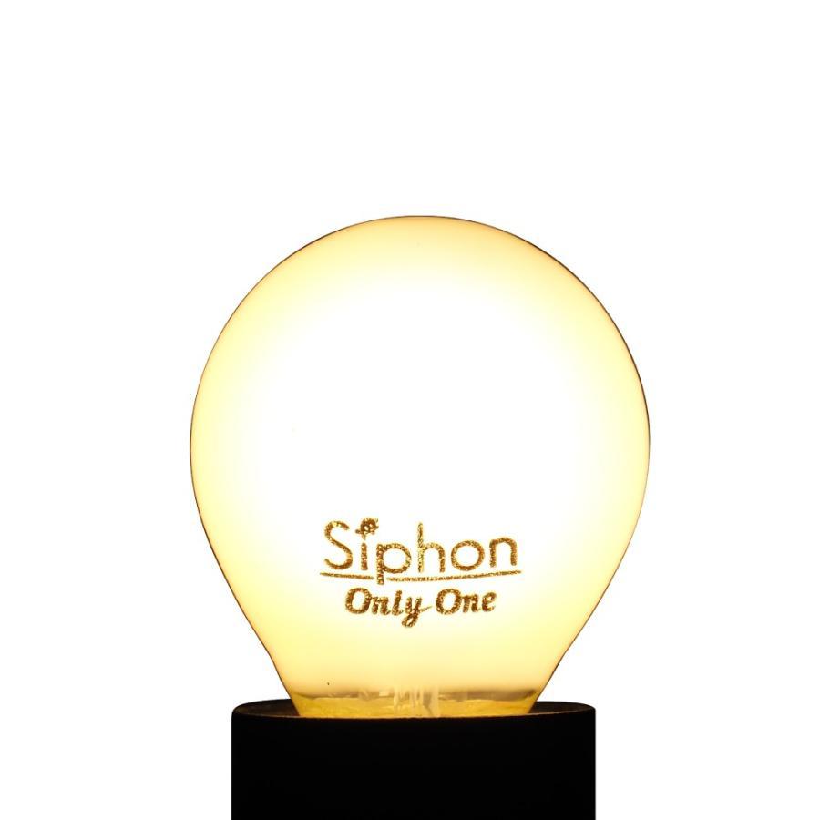 【3年保証 フィラメントLED電球「Siphon」White ボール35 LDF68】 E17 ホワイト レトロ アンティーク インダストリアル ブルックリン  間接照明 ランプ|only1-led|04