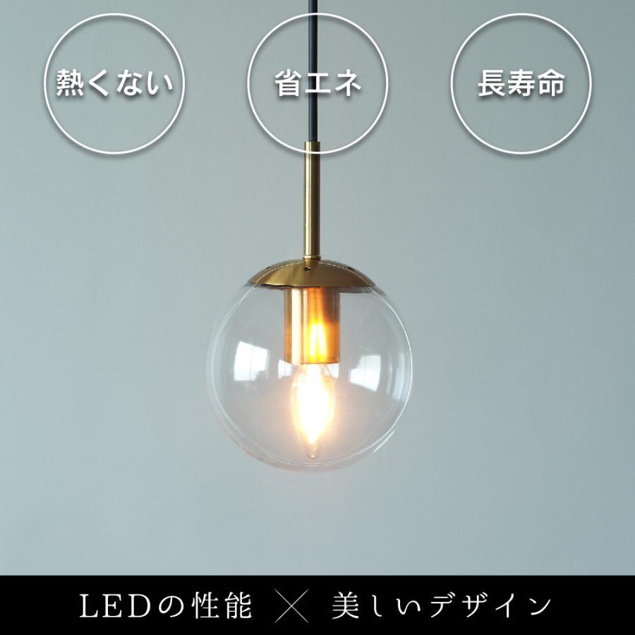 【3年保証 フィラメントLED電球「Siphon」シャンデリア LDF93】E12 25W相当 クリア レトロ アンティーク インダストリアル ブルックリン 間接照明 ランプ|only1-led|05
