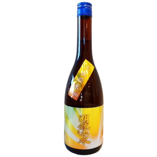 明鏡止水 (めいきょうしすい) きもと純米2016 720ml (日本酒/長野県/大澤酒造) お酒|ono-sake