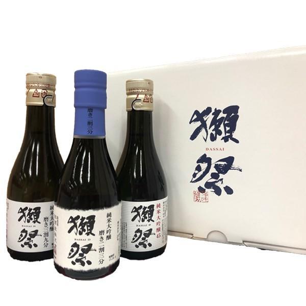 敬老の日 プレゼント 2021 ギフト 獺祭 だっさい 日本酒 お酒 磨き45 三割九分 二割三分 お試し 飲み比べ180ml×3本セット 旭酒造 山口県 60代 70代 80代 ono-sake