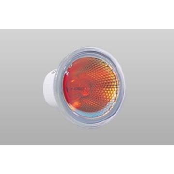 ハロゲン ダイクロ カラータイプ φ50 E11 赤色 JDR110V65WRMK 10個セット ウシオライティング