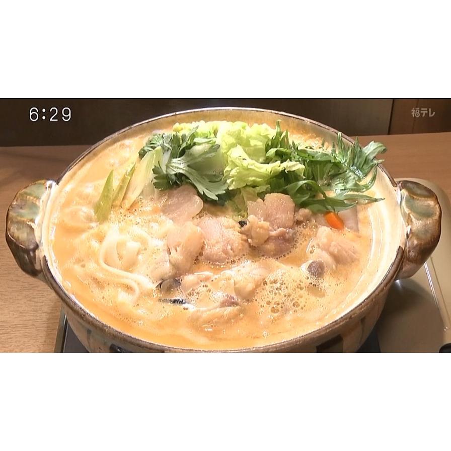 『BSフジ プライムオンラインTODAY』で紹介されました!ボリュームたっぷり!あんこう鍋 米粉麺セット3〜4人前 onozaki 03