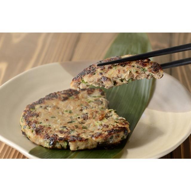 焼くだけ簡単!漁師伝統のお魚ハンバーグ!さんまポーポー焼き 4枚入|onozaki
