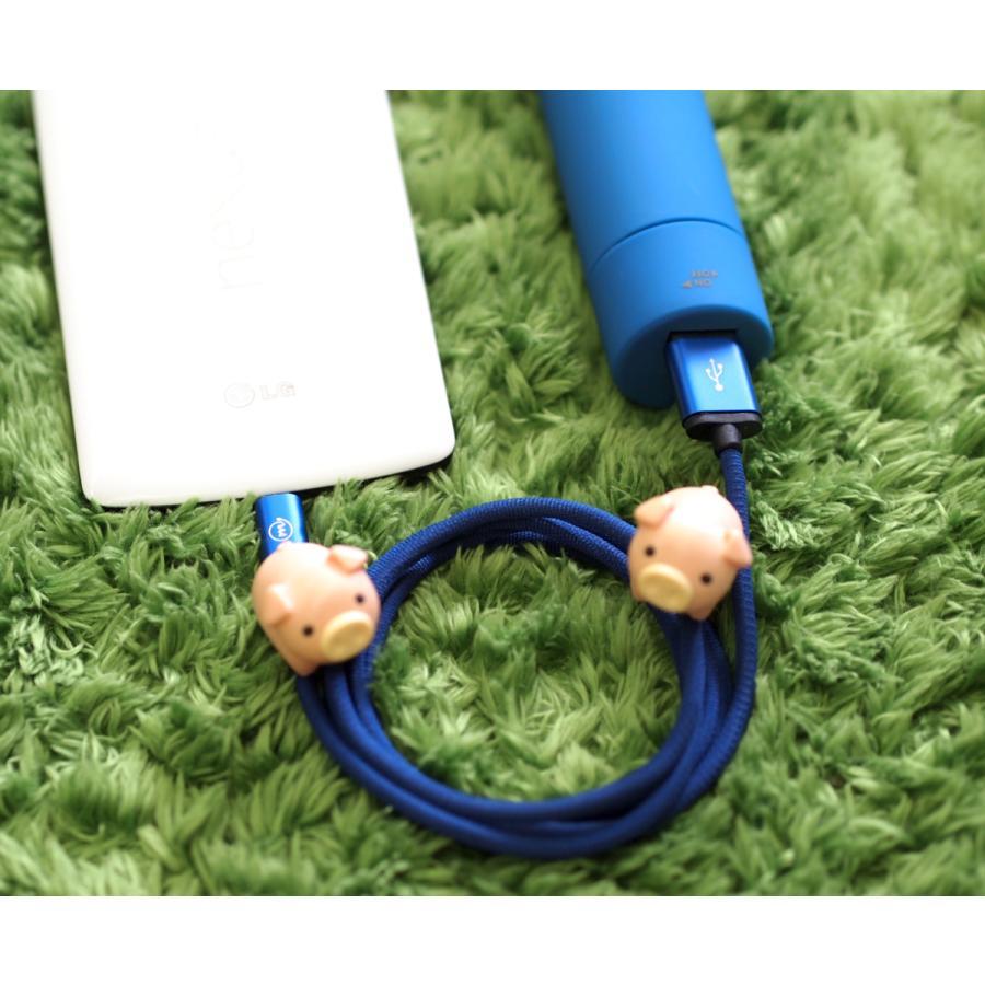 マイクロUSB ケーブル 充電 データ転送 microUSB 高耐久ナイロン編み 1.0m Android スマホ タブレット など対応 全4色 m.a.h onpro-japan-direct 11